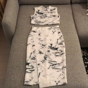 Marble Two Piece Matching Set